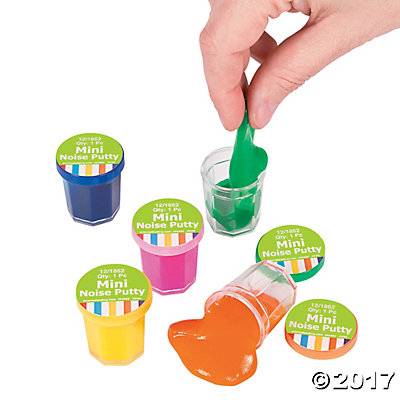 Mini Noise Putty Pack of 12