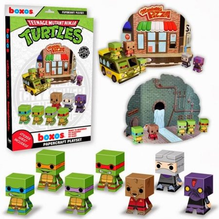 Ninja Turtle Marshmallow Pops (Funko Teenage Mutant Ninja Turtle Papercraft Activity)