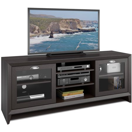 CorLiving TEK-584-B Kansas TV Bench in Espresso Finish for TVs up to 60″