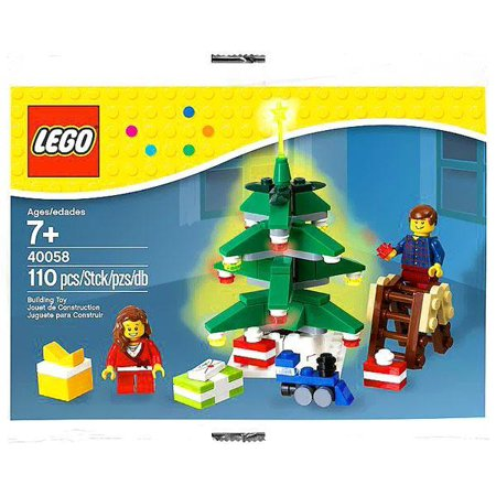 Lego Christmas Decorating The Tree Exclusive Mini Set  40058  Bagged