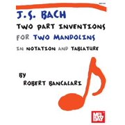 .S. Bach: Two Part Inventions for Two Mandolins - eBook