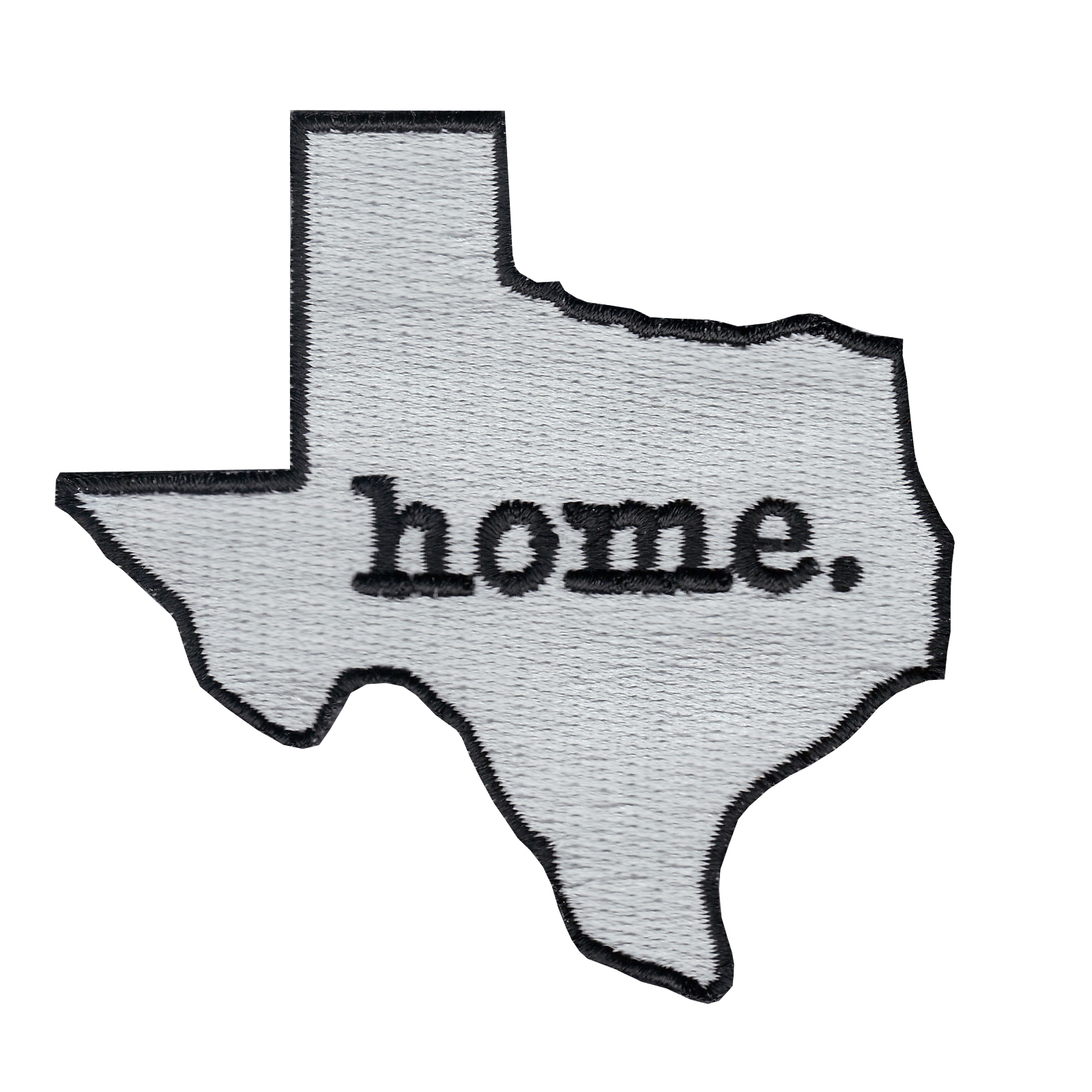 Texas State Home Logo Iron On Applique Patch