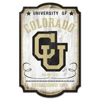 Colorado Buffaloes WinCraft 11'' x 17'' Team Wood Sign