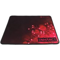 ENHANCE Pro Red Gaming Mouse Pad Extended - Precision Tracking Surface , Non-Slip Base , Anti-Fray Stitching for World of Warcraft: Legion , Battlefield 1 , Dota 2 , League of Legends and More