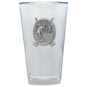 Vwr Glass (Classic Golf Putter Pint Glass )