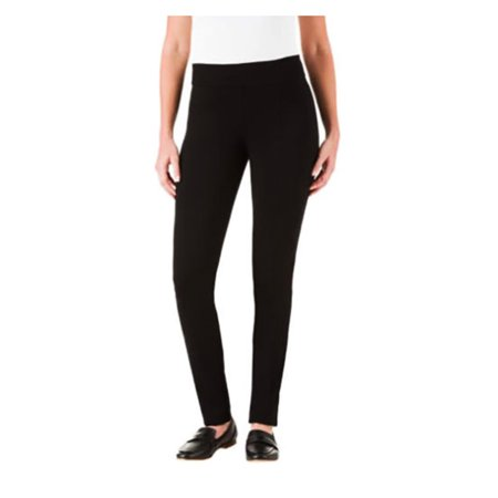 Hilary Radley Women Ponte Slim Leg Stretch Pants ()
