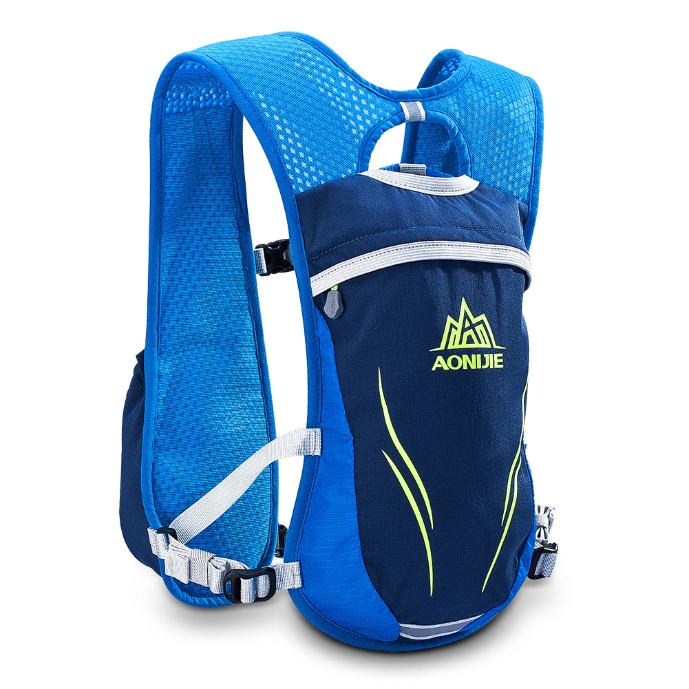 2L Outdoors Mochilas Trail Marathoner Running Race Hydration Vest Hydration Pack Backpack Blue by