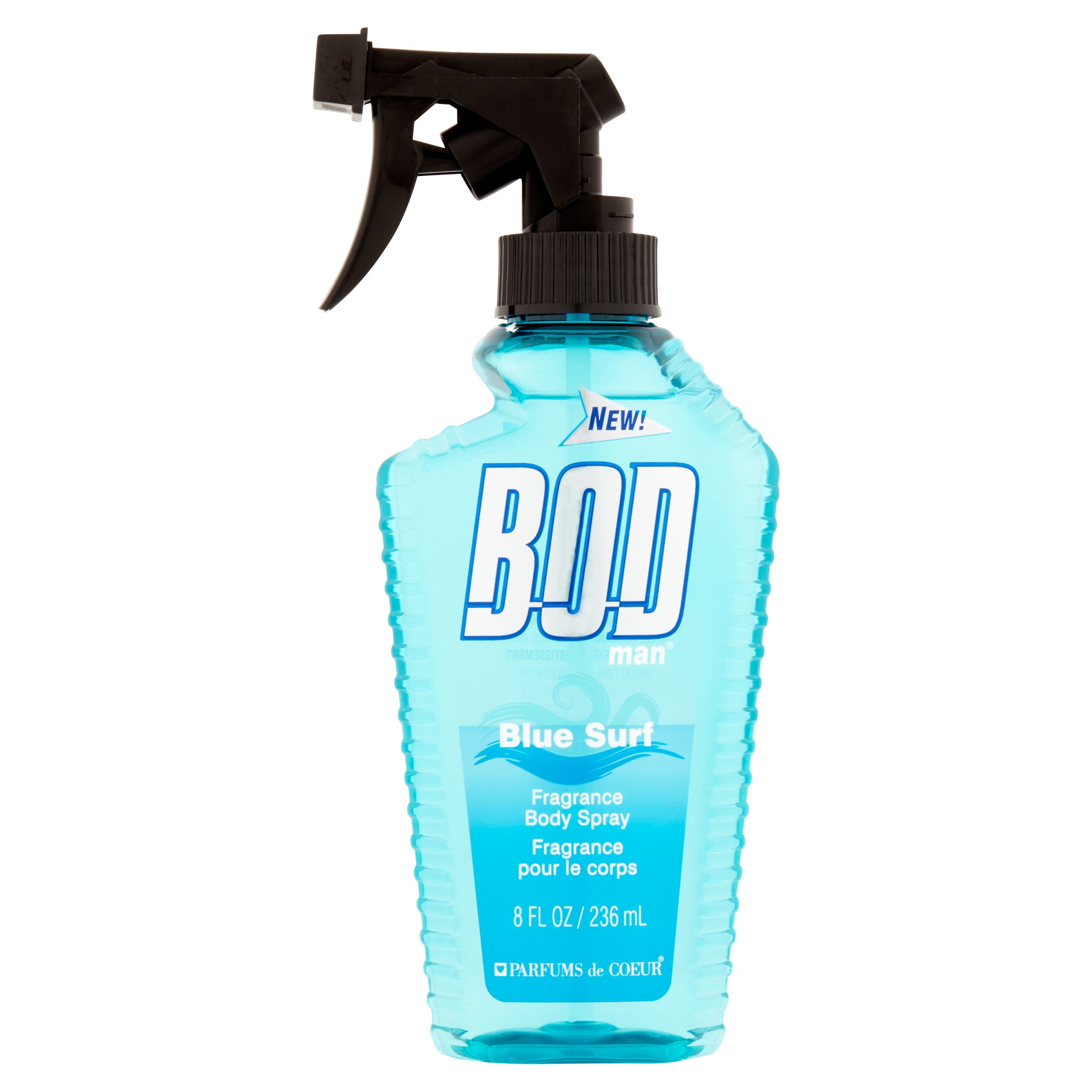 BOD Man Blue Surf Fragrance Body Spray, 8 fl oz