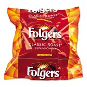 Folgers Regular Ground Coffee, 160 Count