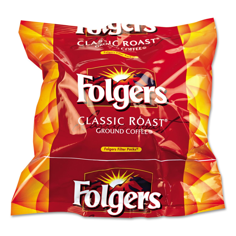 Folgers Regular Ground Coffee, 160 ct