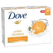 Dove go fresh Beauty Bar, Mandarin and Tiare Flower 4 oz, 8 Bar