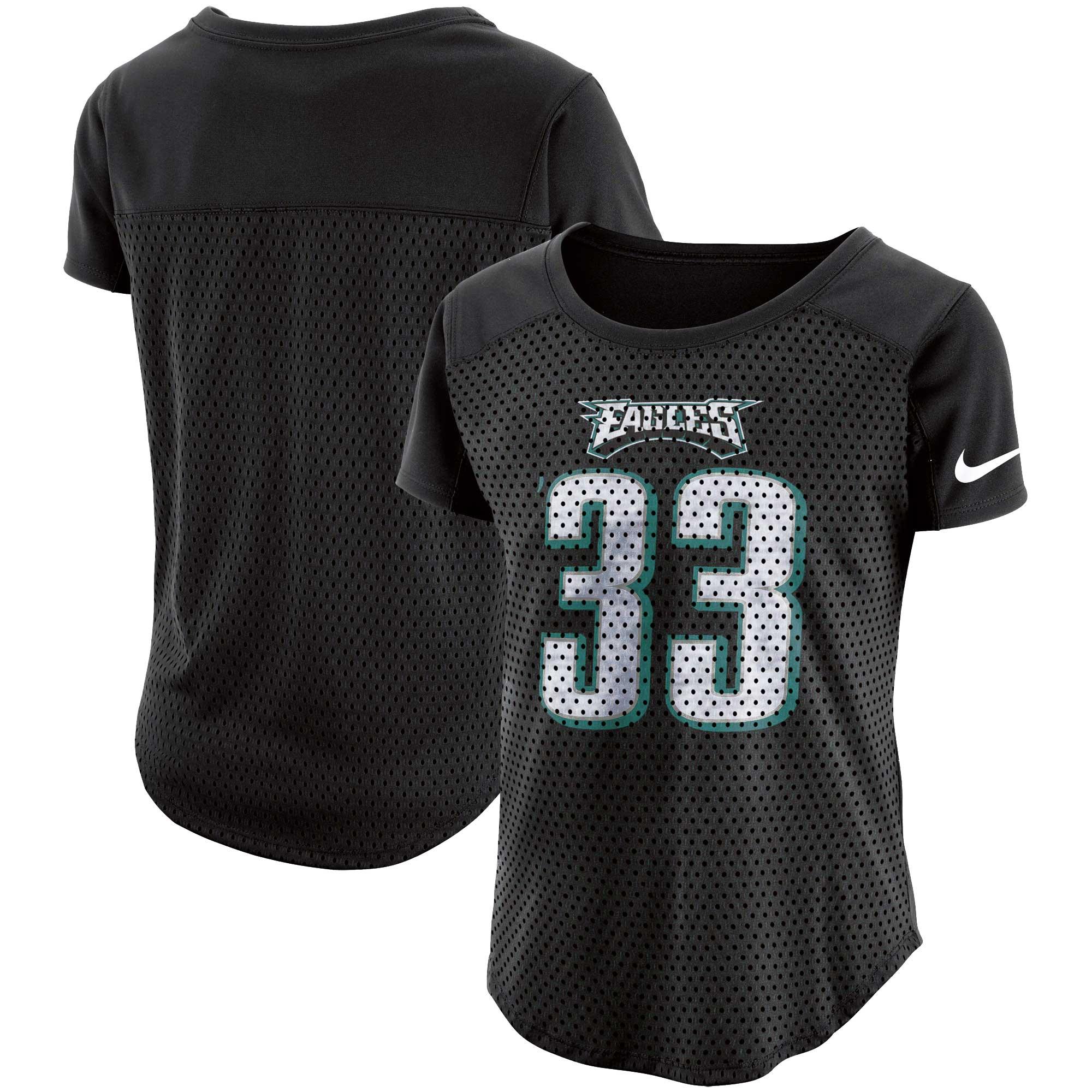 Philadelphia Eagles Nike Women's Modern Fan T-Shirt - Black