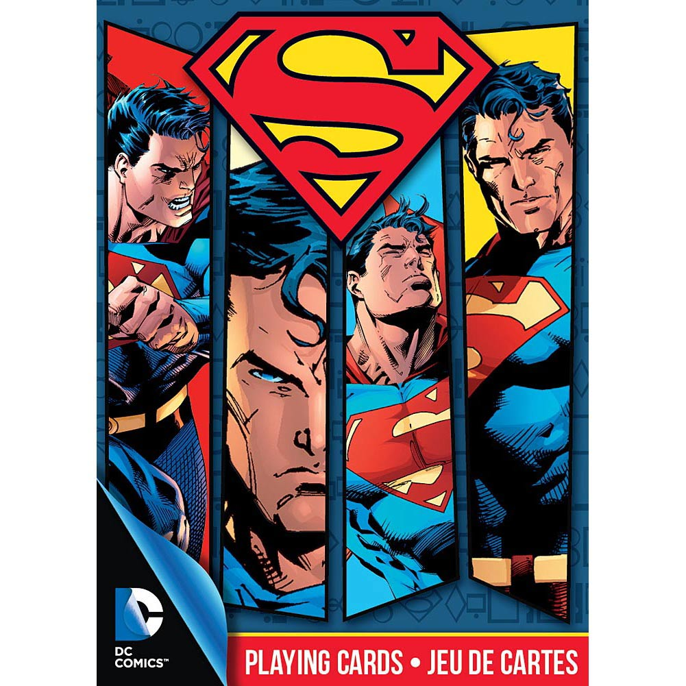 Superman Playing Cards,  Cartoons | Comics by NMR Calendars