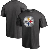 27aadcbd8 Product Image Pittsburgh Steelers NFL Pro Line by Fanatics Branded  Distressed Primary Logo Big and Tall T-