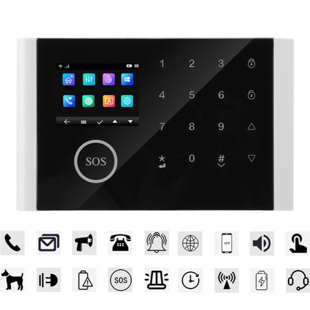 OTVIAP LCD Security Wireless Mobile SIM GSM Autodial Home House Burgla