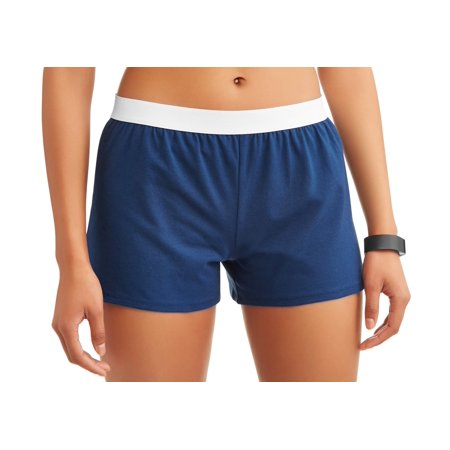 Athletic Works Womens Core Active Dolphin Hem Knit Shorts With Elastic Waistband