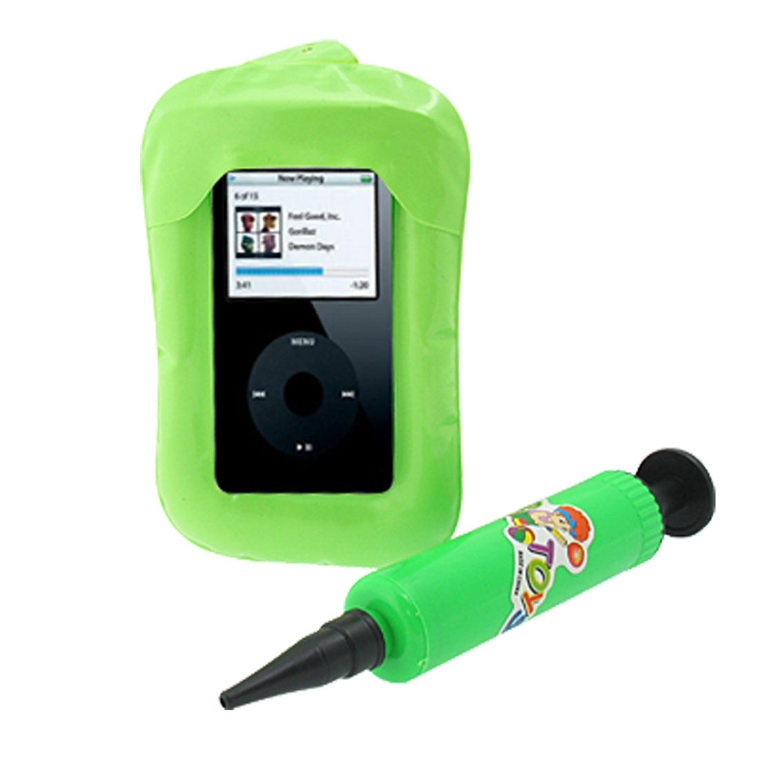 Inflatable Case Guard -Cyan Guard for iPod Nano Video Photo Rokmd