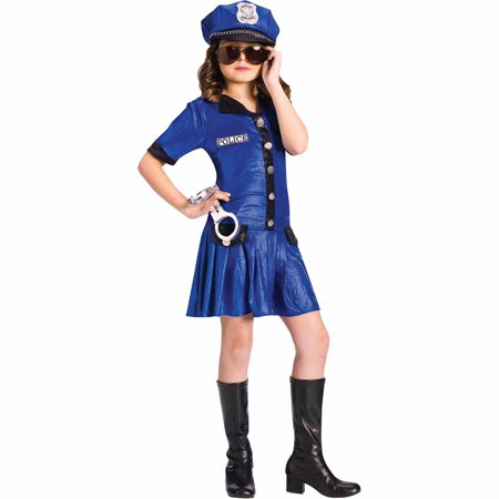 Police Girl Child Halloween Costume](Police Halloween Costume Kids)
