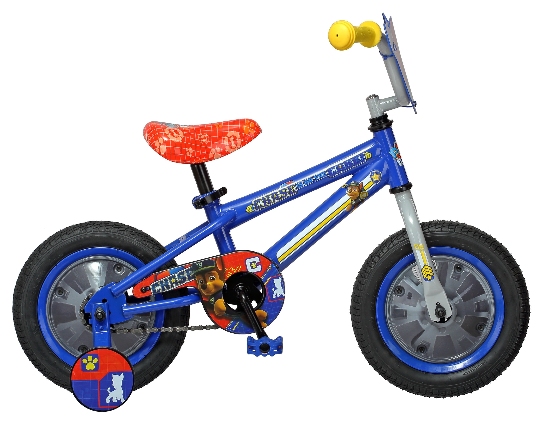 Nickelodeon Paw Patrol Chase Kids Bike, 12 inch wheel