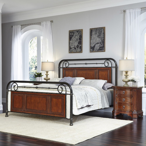 Home Styles Richmond Hill Queen Bed and 2 Night Stands