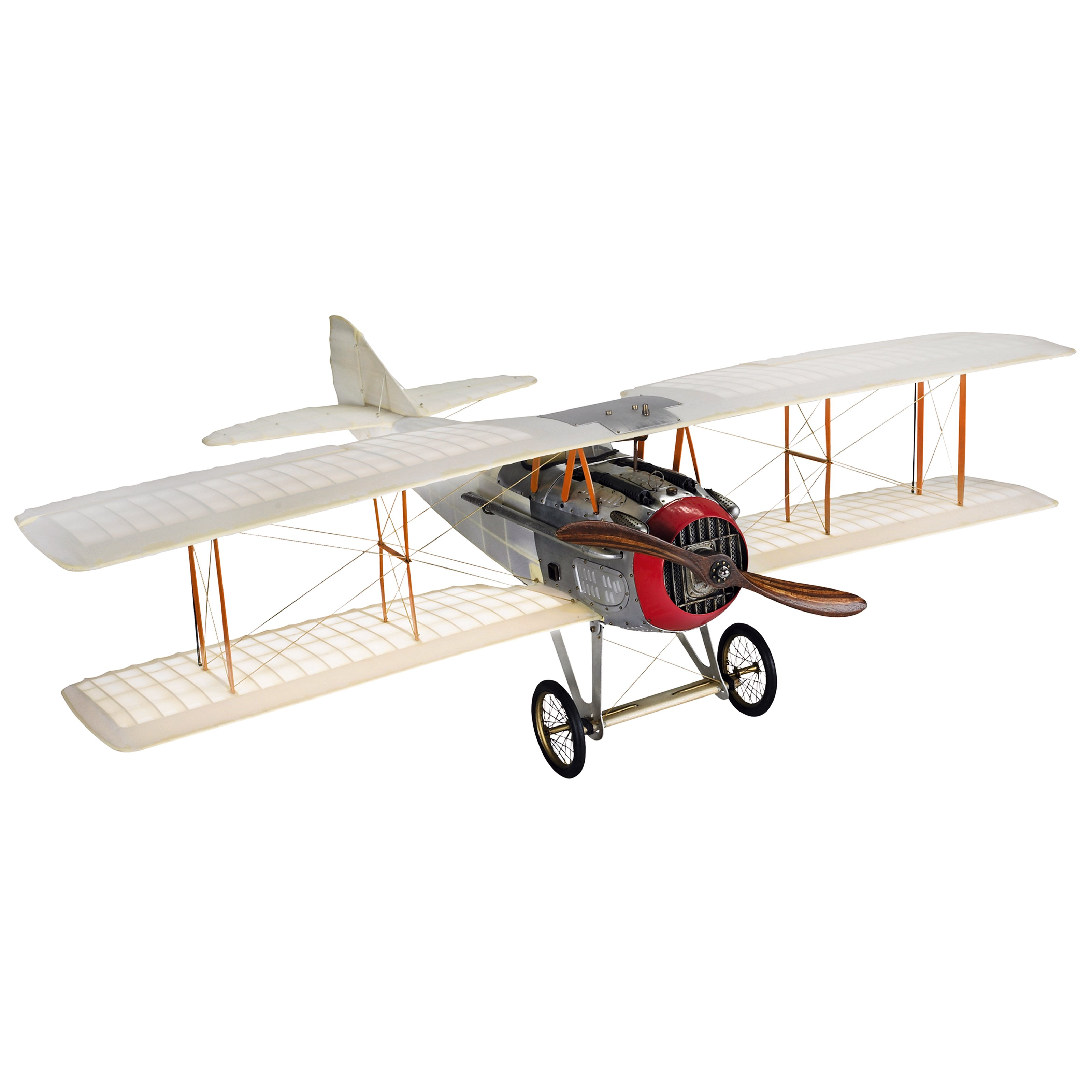 Authentic Models Transparent Spad Model Airplane Medium by Authentic Models