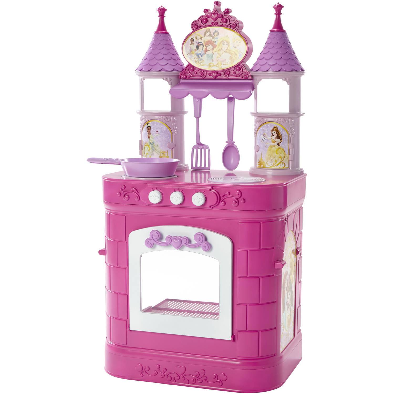 Play Kitchen disney princess magical play kitchen - walmart