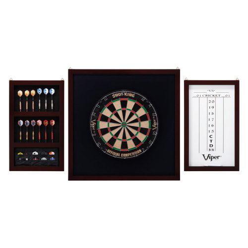 Viper Shot King Deluxe Bristle Dart Board Complete Set