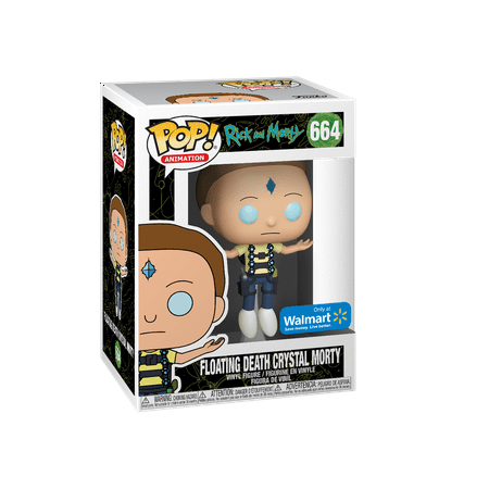 Funko POP! Animation: Rick & Morty - Floating Death Crystal Morty - Walmart Exclusive