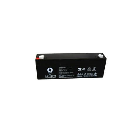 SPS Brand 12V 2.3 Ah Replacement Battery  for Hoffman Laroche 7501 DEFIBRILLATOR (1 pack)