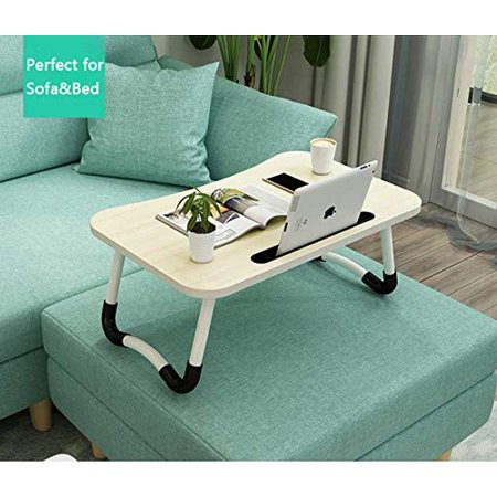 Widousy Laptop Bed Table Breakfast Tray with Foldable Legs Portable Lap Standing Desk Notebook Stand Reading Holder - image 5 of 5