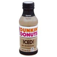 Dunkin' Donuts Espresso Iced Coffee, 13.7 Fl. Oz.