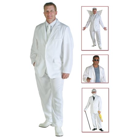 Mens White Suit Costume for $<!---->
