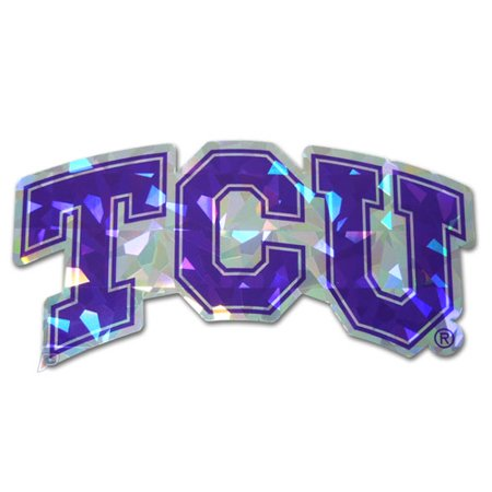 Tcu Horned Frogs Reflective Dome Auto Decal Emblem Amg