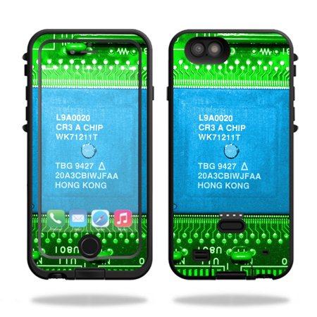 MightySkins Protective Vinyl Skin Decal for LifeProof FRE Power iPhone 6 Plus Case Case wrap cover sticker skins Circuit Board ()