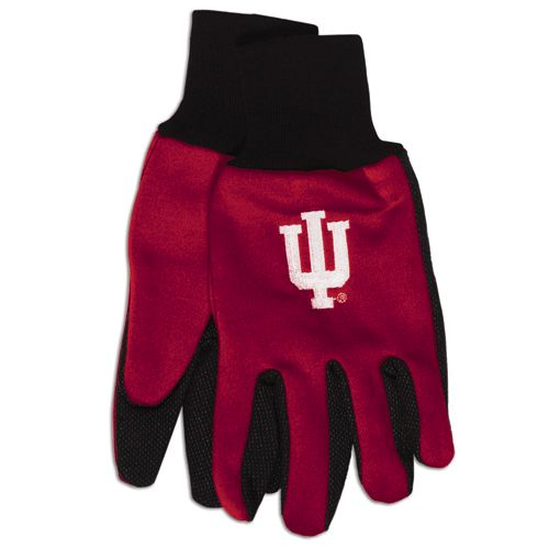 Indiana Hoosiers Two Tone Gloves Adult by Wincraft, Inc.