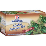 Mccormick Linden Flower Tea, 25 Count, (