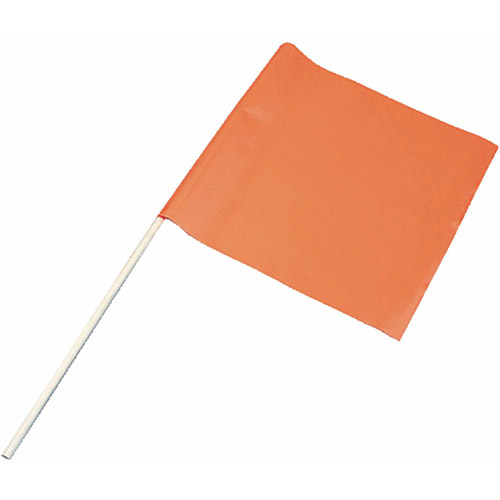 "Airhead Orange Vinyl Water Ski Flag on 24"" Pole by Kwik Tek"