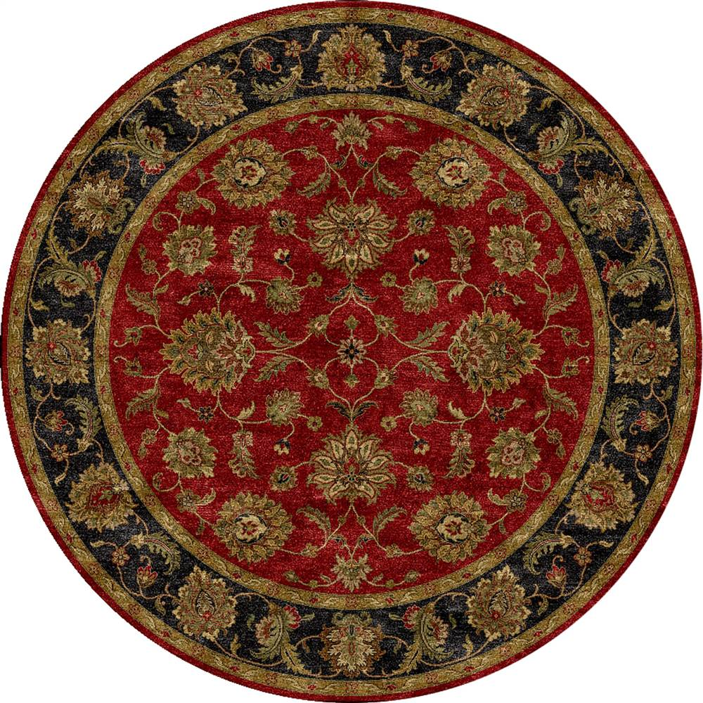 Wildon Home  Hand-Tufted Red Area Rug