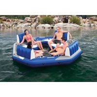 Intex Pacific Paradise 4-Person Water Lounge River Tube Raft