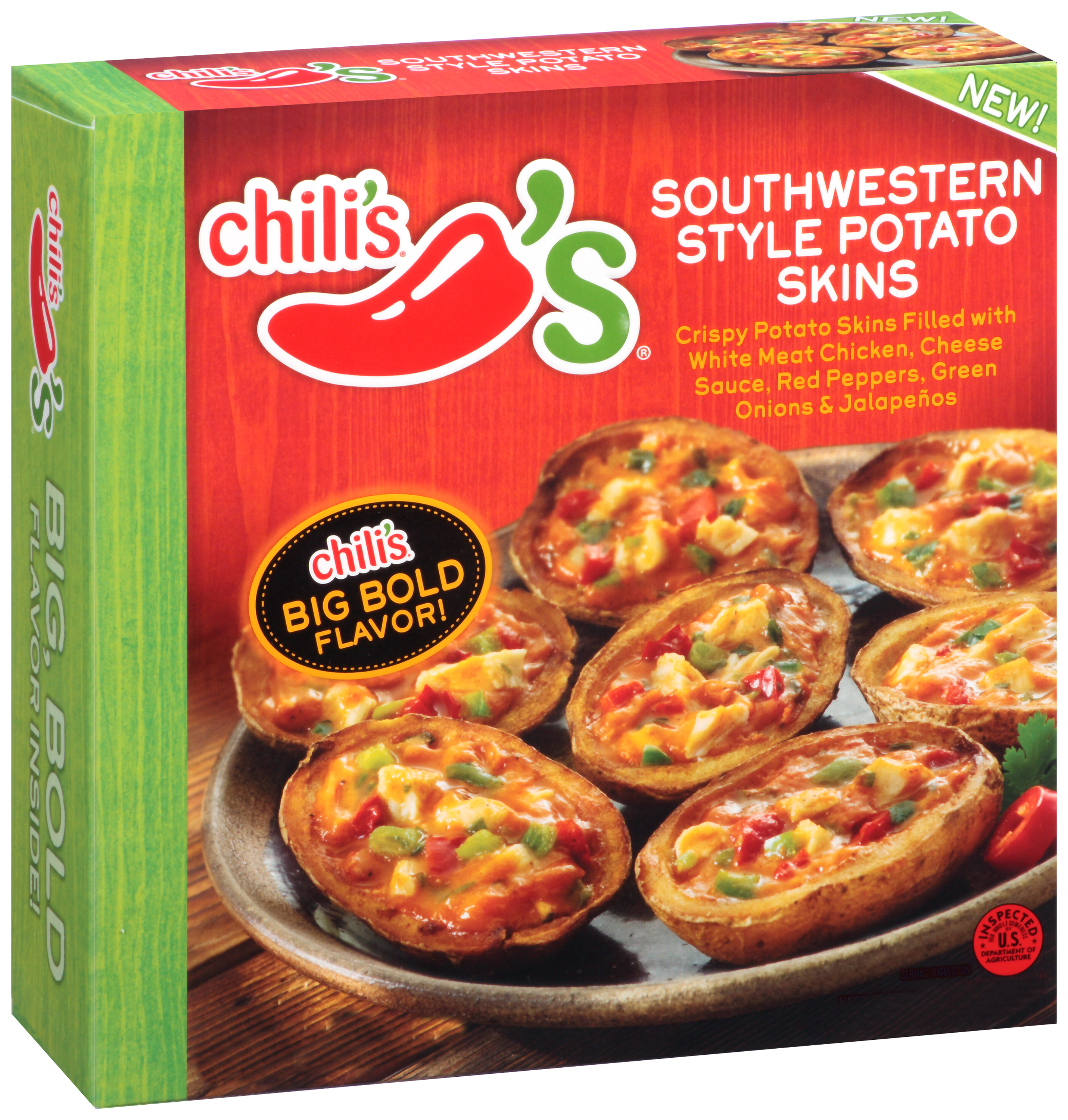 Chili's® Southwestern Style Potato Skins 16 oz. Box