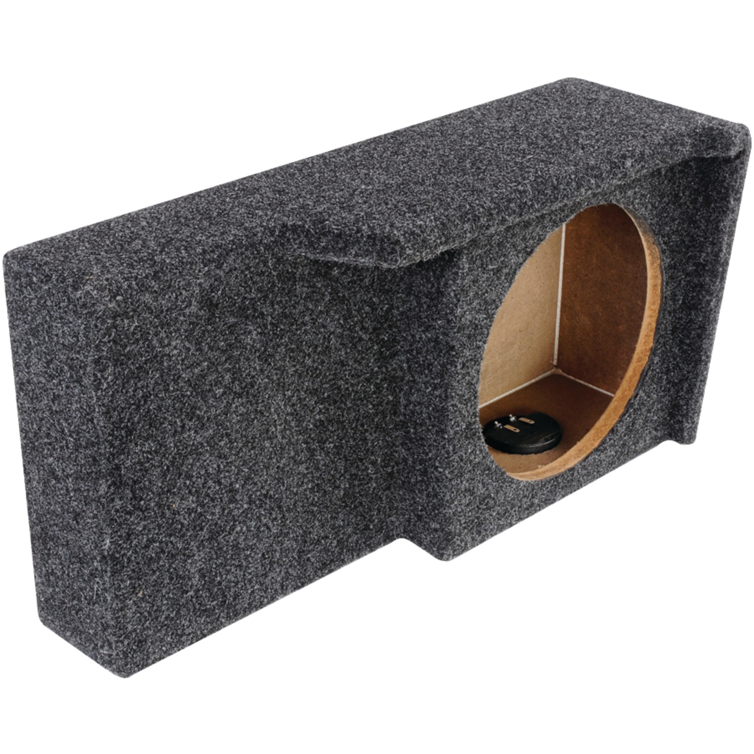 """Atrend A371-10CP BBox Series 10"""" Subwoofer Box for Ford Vehicles (Single Downfire)"""