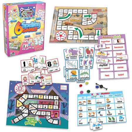 Junior Learning Spelling Games, Set of 6 Different Games](Halloween Spelling Games Online)