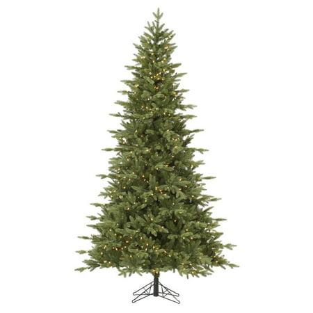 Vickerman Pre-Lit 4.5' Fresh Balsam Fir Artificial Christmas Tree, Dura-Lit, Clear Lights ()