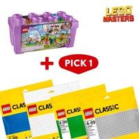 LEGO Masters: Friends Heartlake City Brick Box & Baseplate Bundle