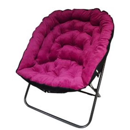papasan moon chair pink