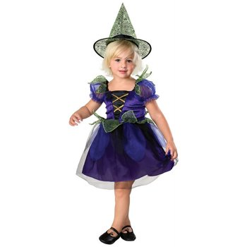 Pumpkin Junction Toddler-Girls 'Spider Witch' Halloween Costume