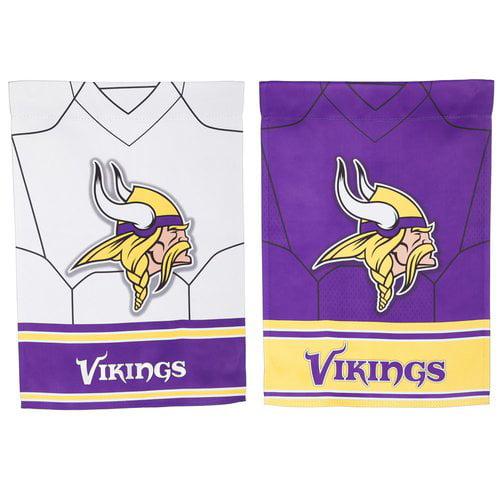 Evergreen Enterprises, Inc NFL DS Suede Foil Regular Jersey Polyester 1'6 x 1'0.5 ft. Banner (Set of 2)