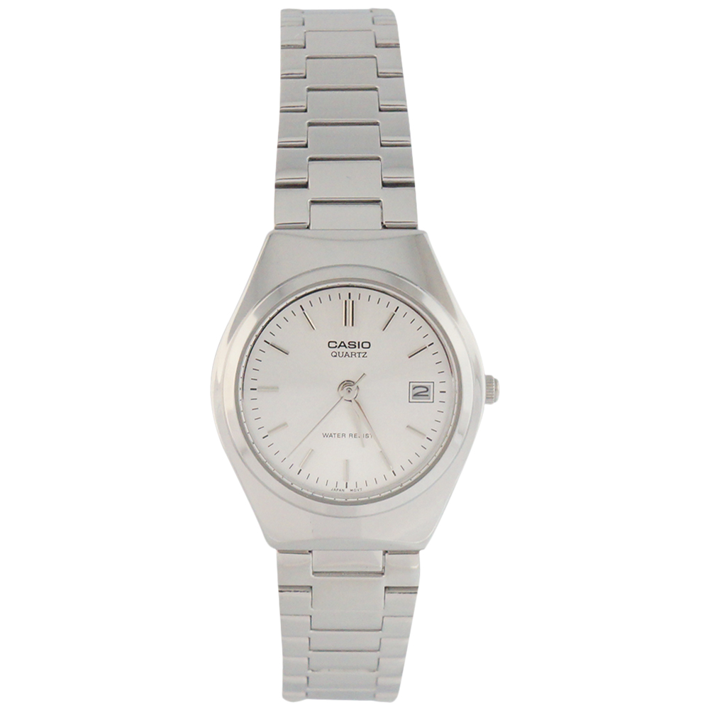 Casio Women's LTP-1170A-7A Metal Fashion Silver Dial Analog Watch