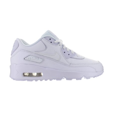 Nike Air Max 90 Leather Gs White 833412 100
