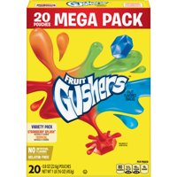 Gushers Strawberry Splash and Tropical Flavors 20 Count